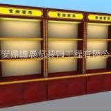 西安装饰品展柜厂家定制-异形展示柜子-瓷器展示柜-奶粉展柜