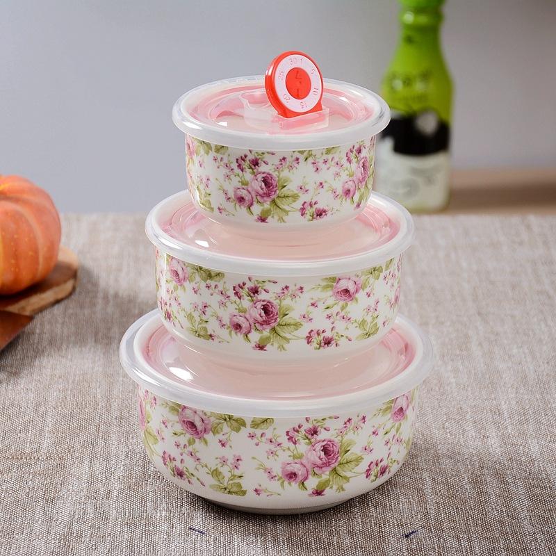 陶瓷保鲜碗批发 可定制