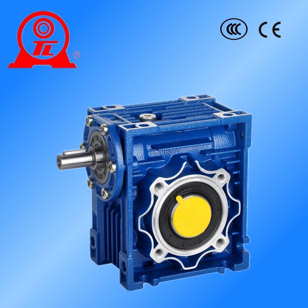 台湾进口 东力蜗轮蜗杆减速机批发 NMRV铝合金中空蜗轮减速机
