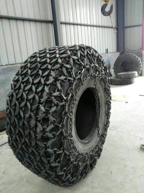 天津天威轮胎保护链 11.00-16型装载机防滑链20型隧道机防滑链  压路机保护链  雪地机轮胎防滑链