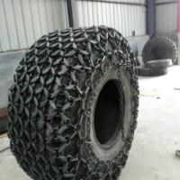 天津天威轮胎保护链 14/90-16型铲运机轮胎保护 20型铲运机轮胎保护链  隧道机轮胎保护链  雪地机轮胎防滑链