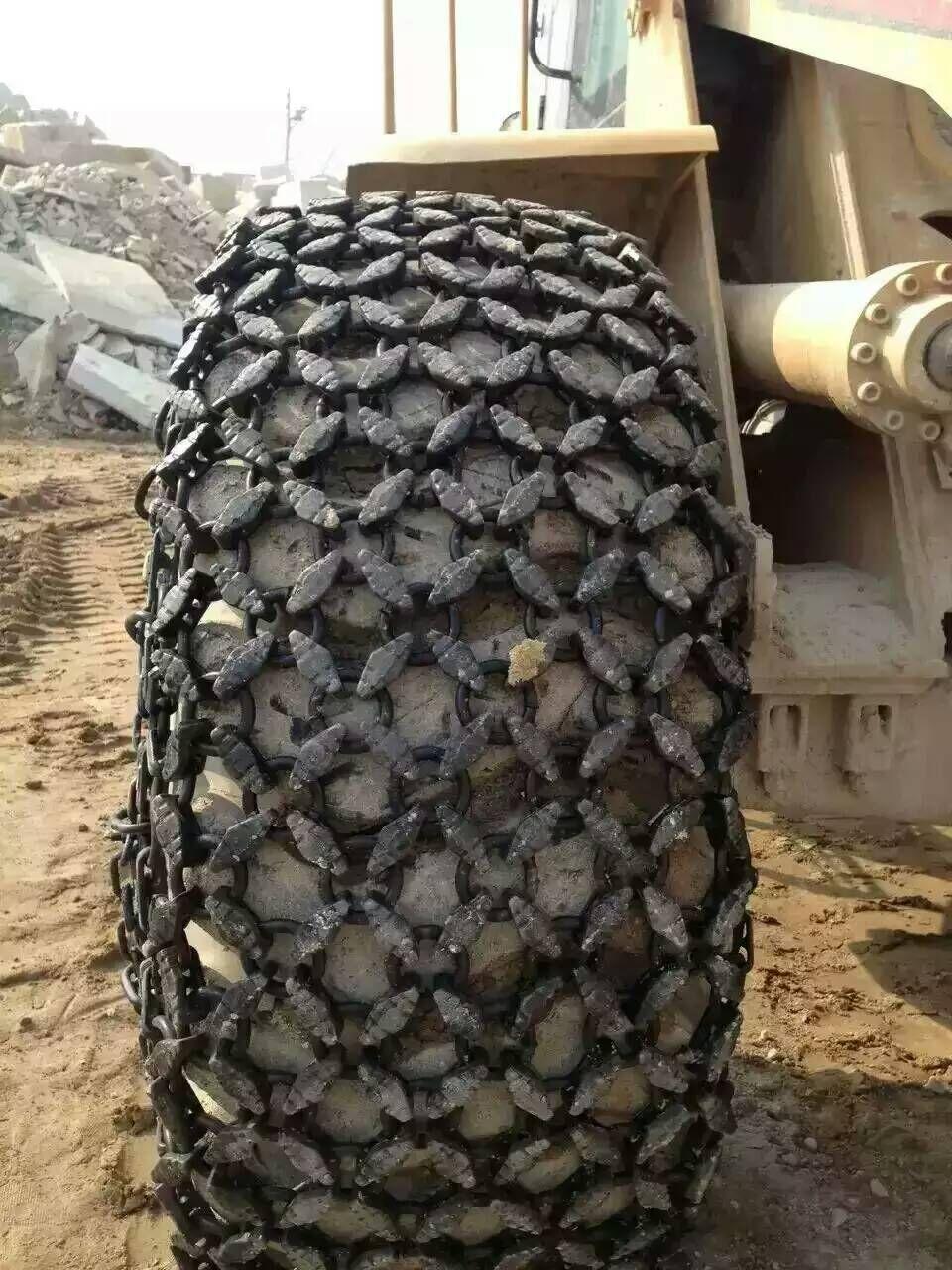 40型装载机保护链20.5-25铲车轮胎保护链