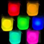 蜡烛玻璃烛台专用夜光粉图片