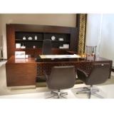 办公桌老板桌经理桌常州办公家具厂家直销2.8/3.6/3.2米高档实木  油漆总裁大班台