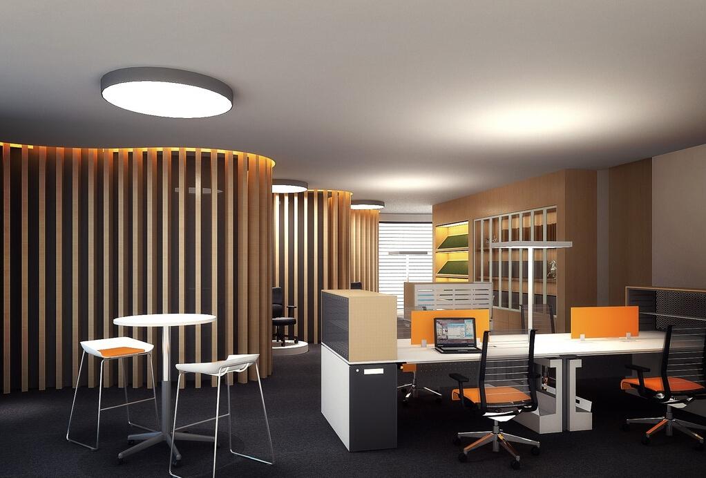 2017新 办公室装修效果图 案例图