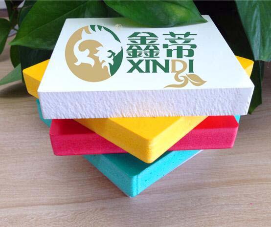 彩色PVC广告板家具板厂家销售