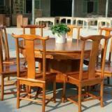 陕西实木餐桌餐椅、火锅桌厂家直销