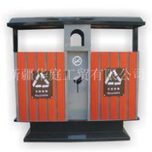 新疆垃圾桶/新疆户外环保塑木垃圾桶厂家直销/华庭果皮箱质量至上厂家