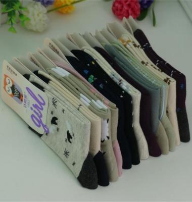 中筒纯棉袜图片/中筒纯棉袜样板图 (2)