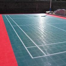 羽毛球场地灯光  组装地板  羽毛球场地 羽毛球运动地胶
