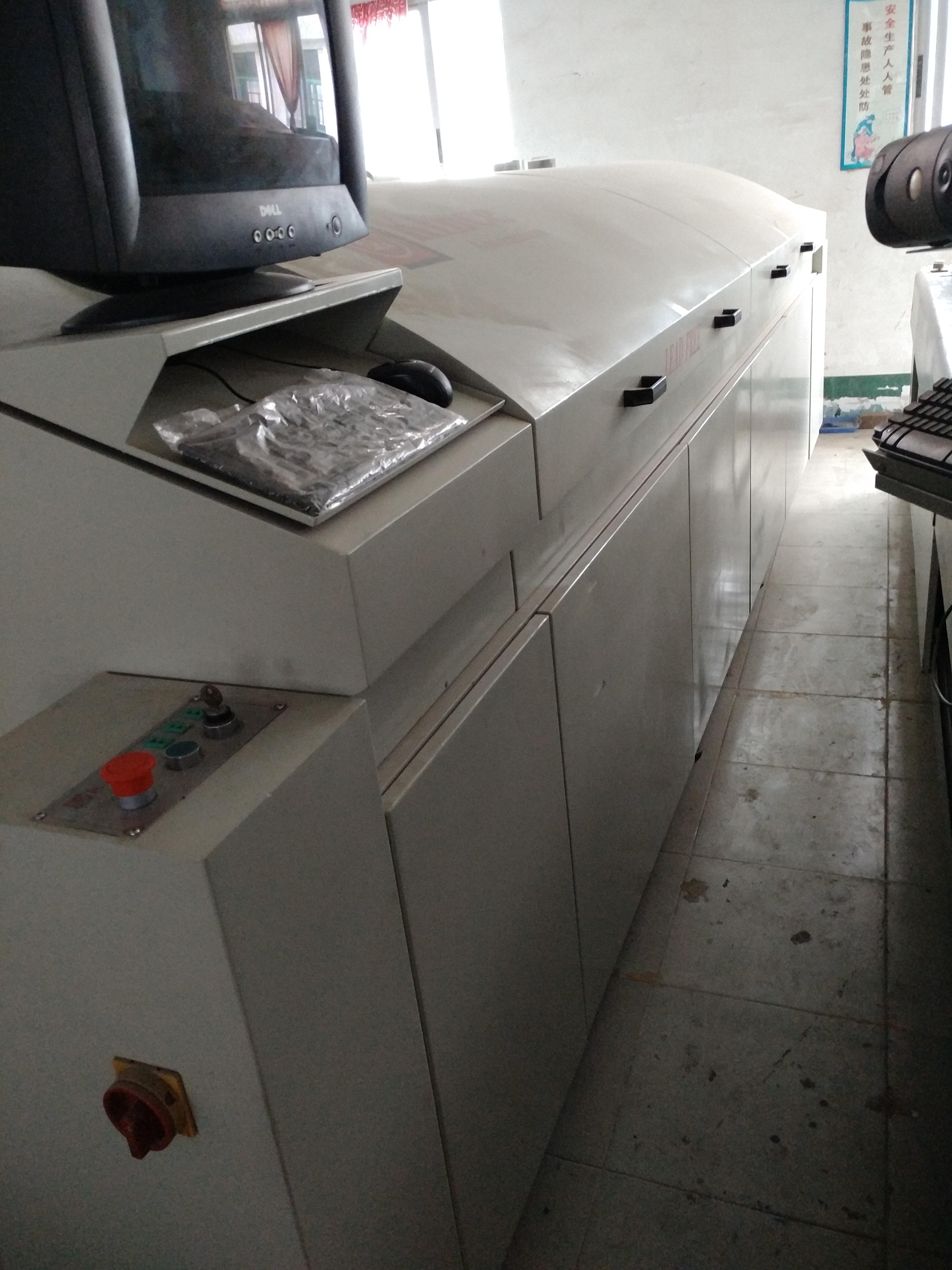 氮气无铅热风回流焊MK系列8温区,10温区,12温区 科隆威回流焊MK系列出售