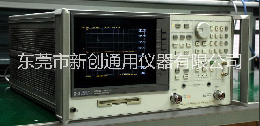 二手的HP8753E网络分析仪东莞HP8753E新创仪器