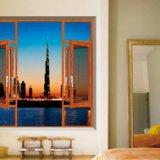 65非断桥窗纱一体平开窗金钢纱,AAG铝材、雅高美门窗隔热节能