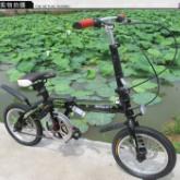 飞豹14寸折叠碟刹自行车男女成人学生迷你单车童车儿童自行车 14寸自行车
