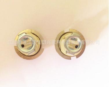 G9全牙灯头 支架配G9全牙灯头 锌合金外环+支架配G9全牙灯