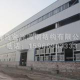 承接钢结构办公楼、厂房、仓库等工