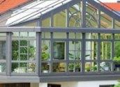 济南阳光房铝合金门窗 防火隔热隔音铝合金阳光房 专业厂家定制