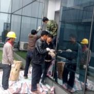 广州幕墙补片维修图片
