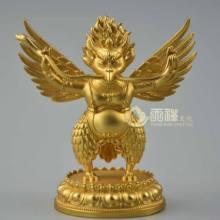 大鹏金翅鸟铜像,密宗铜佛像