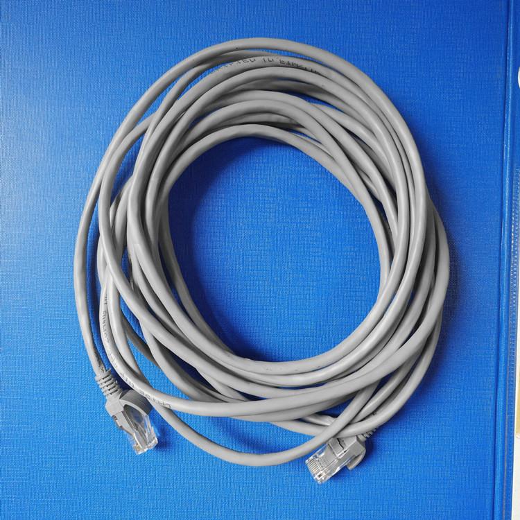 深圳网线生产厂家 超五类单股铜包铝成品网线 浅灰色网线批发价