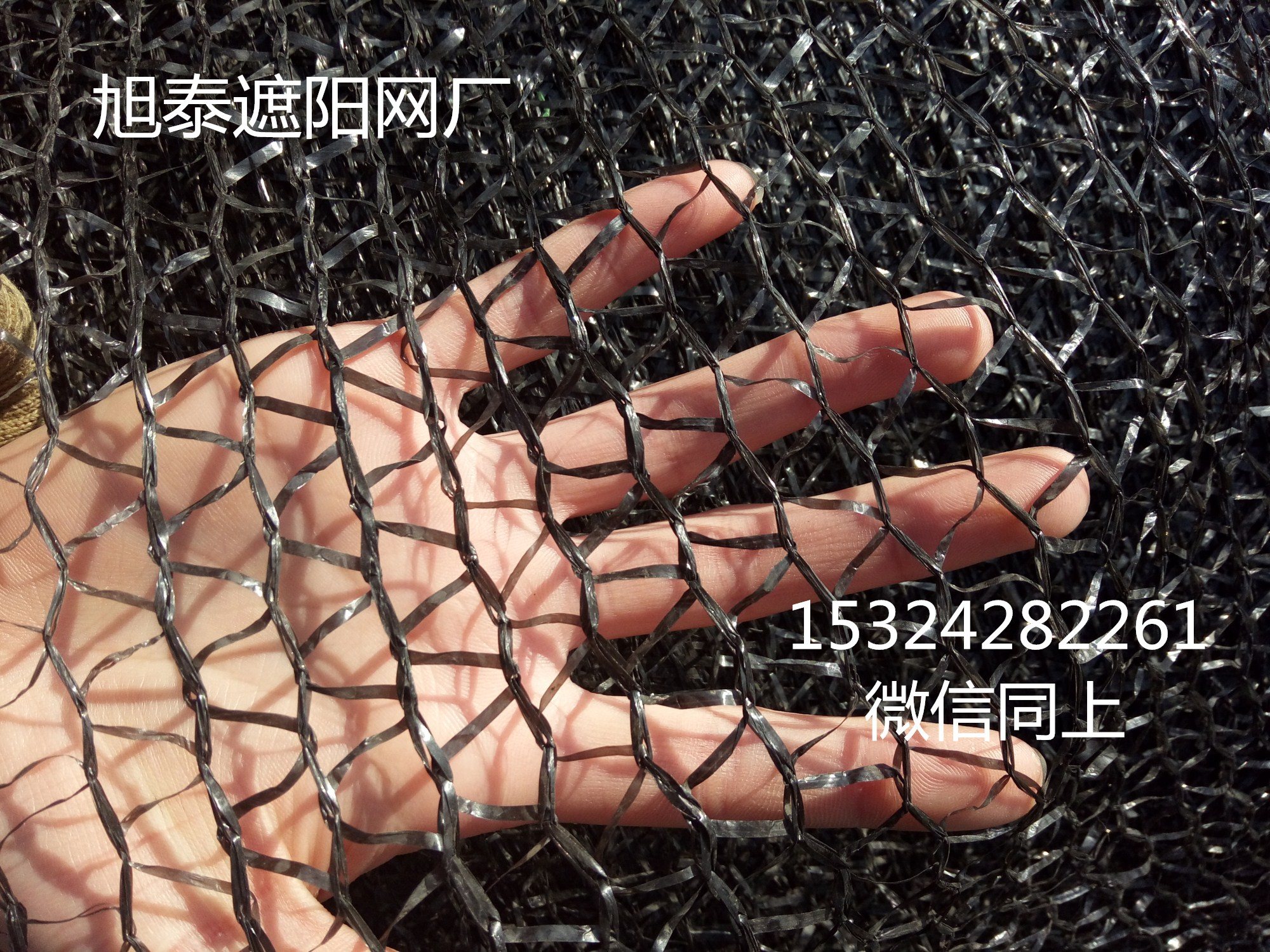 全新料黑色遮阳网图片/全新料黑色遮阳网样板图 (3)