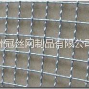 热镀锌钢丝轧花网图片