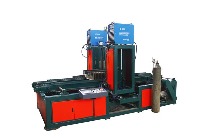 数控波纹片焊接机波纹片油箱自动焊接机变压器油箱散热片焊接机HJJ-1300
