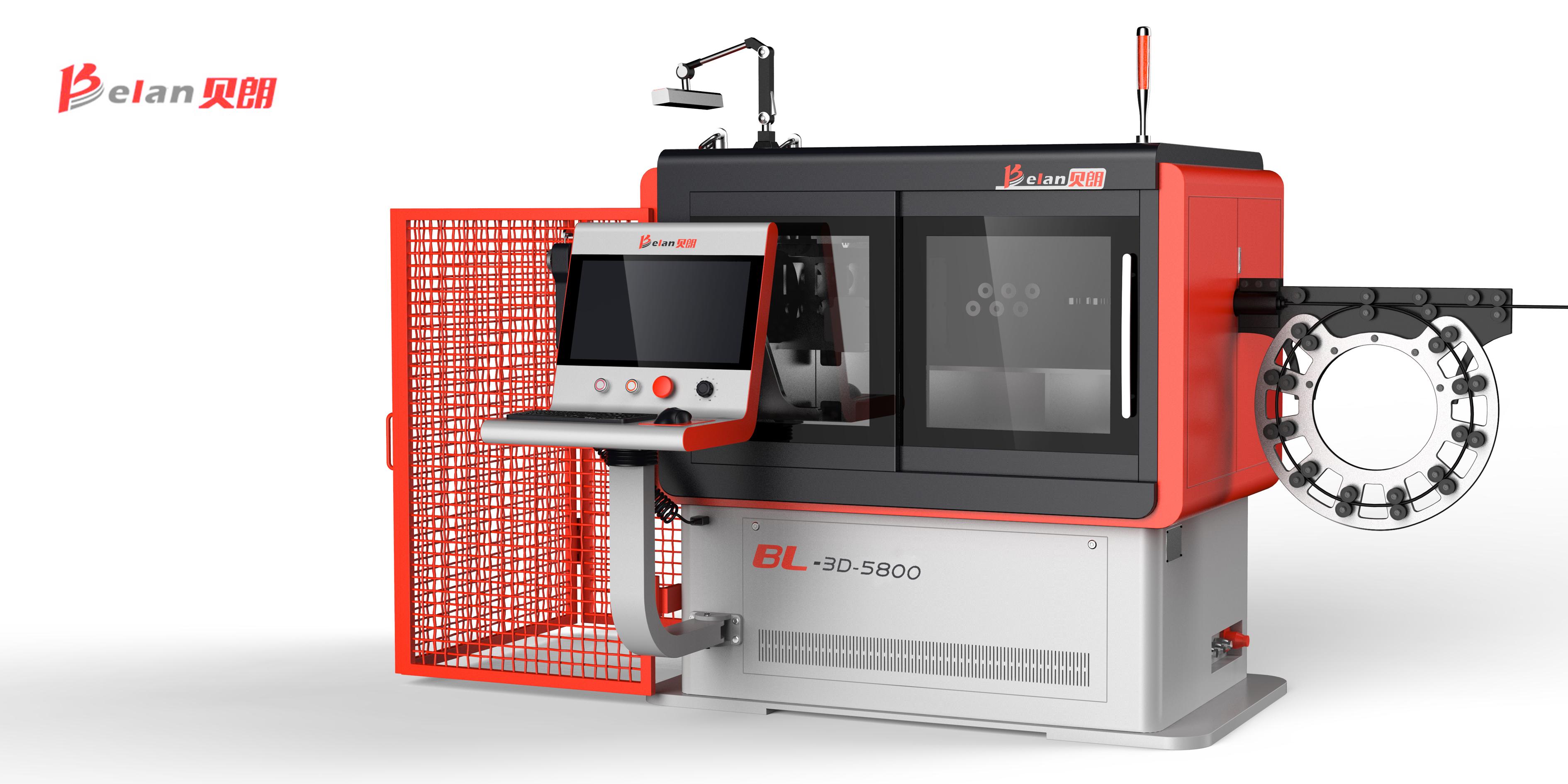 厂家直供汽车配件成型3D线材成型机 全自动线材折弯机 折线机报价