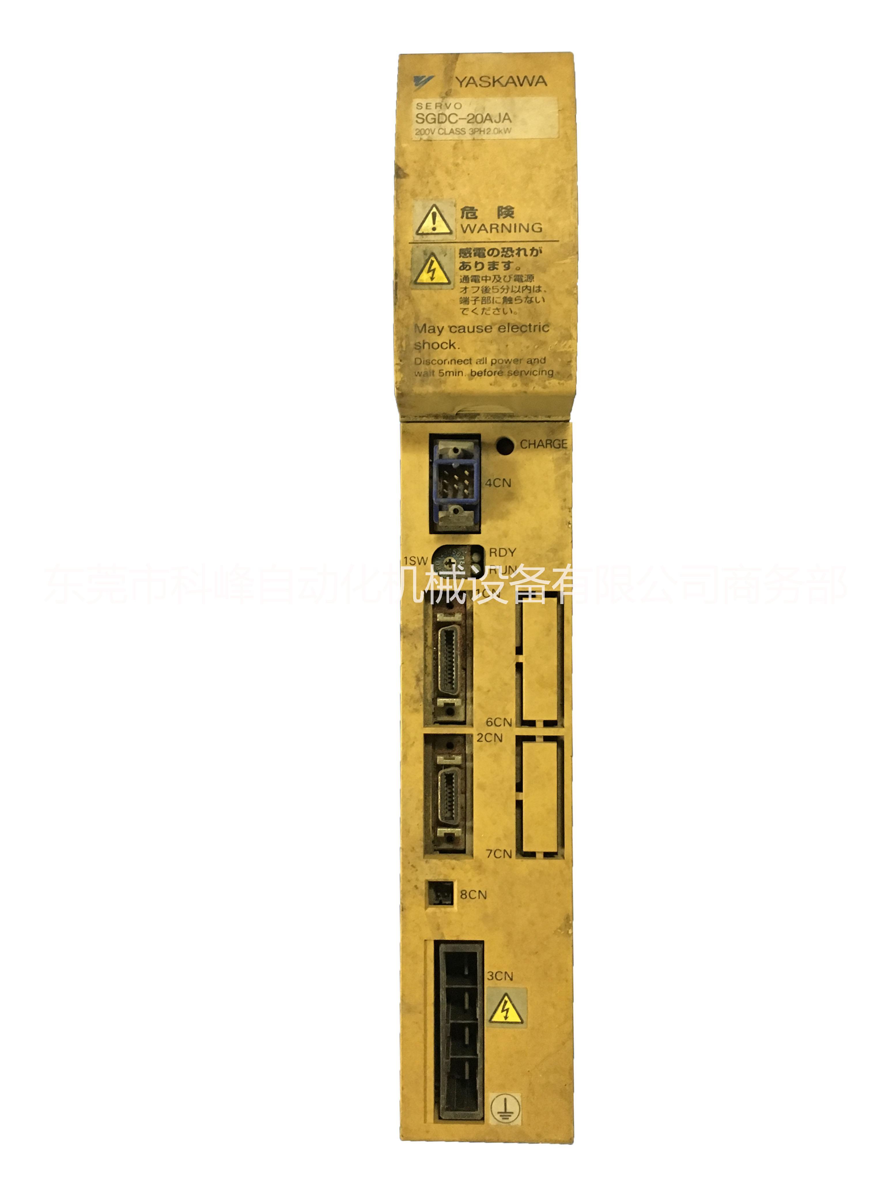 安川SGDC-20AJA伺服维修 安川2KW伺服驱动器维修