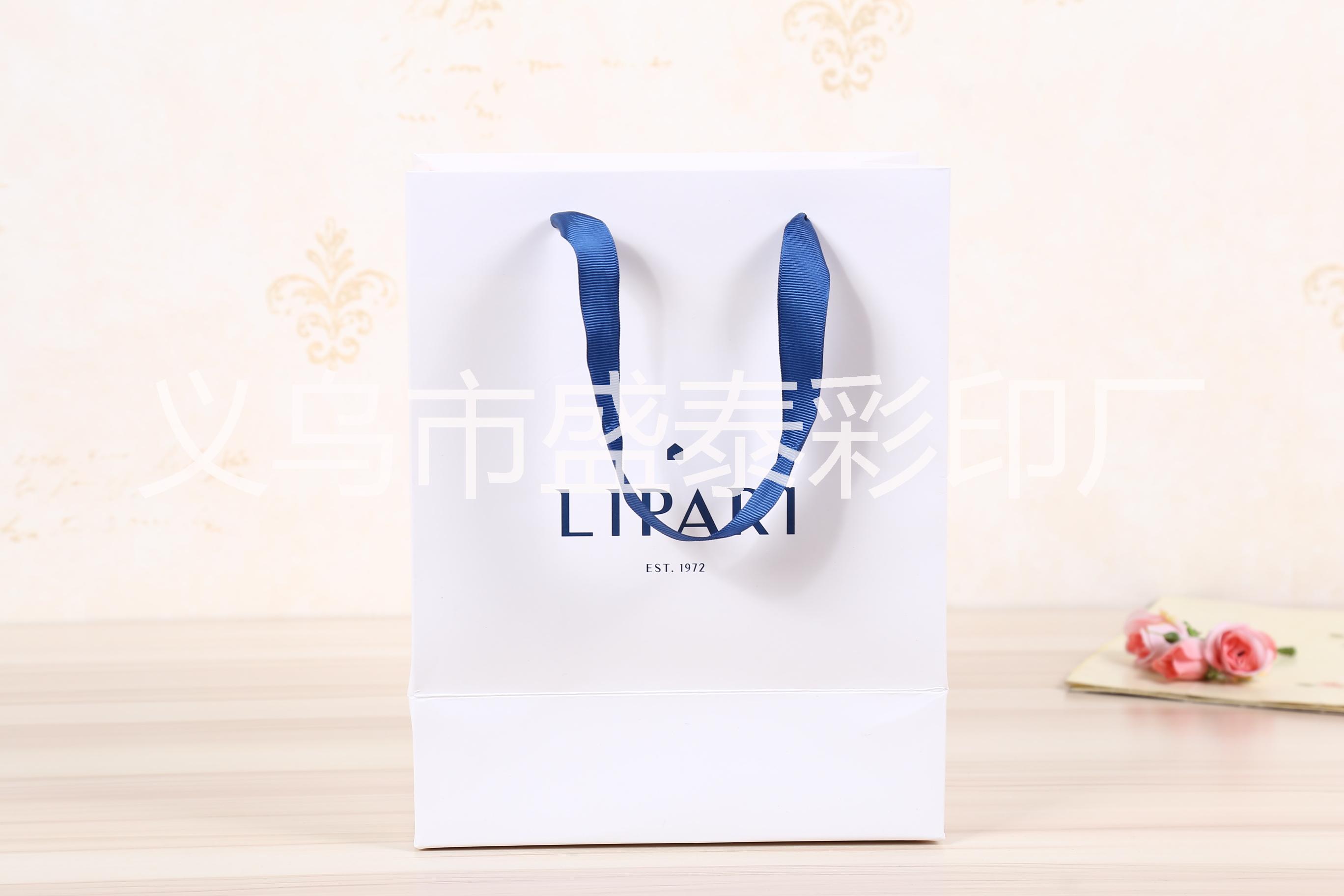 韩版商务广告礼品袋 潘通色包装袋 手提服装购物袋