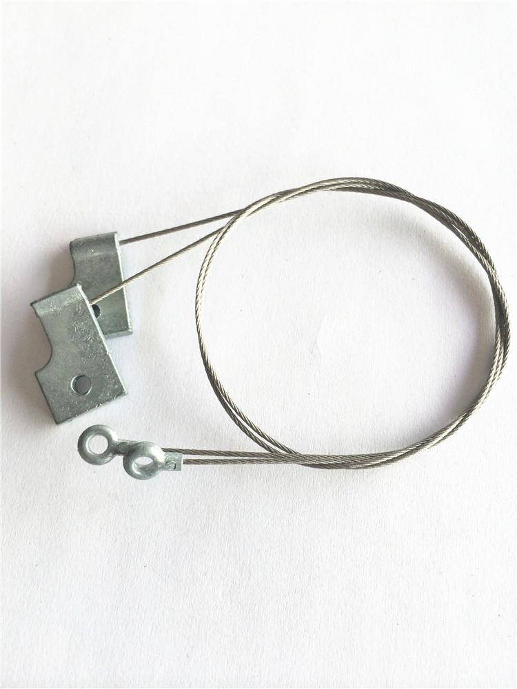 厂家直销 钢丝绳压铸锌合金形状开开模定制 来图来样