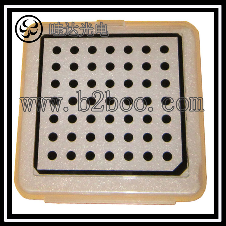 相机标定板 视觉校准板 标定块 圆点10X10mm