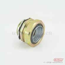 一洋五金生产各尺寸铁镀锌软管接头直头 非标件加工 质量好 铁镀五彩锌金属软管直接头