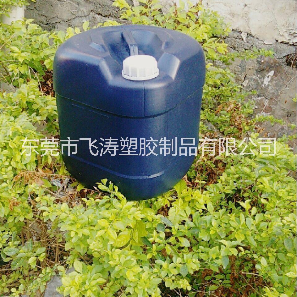 厂家直销25kg化工塑料桶 20L白色新料方罐 30L扁罐