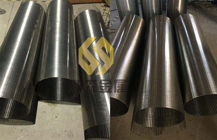 渤森 高效不锈钢楔形丝绕丝管报价