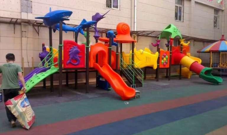 塑料儿童滑梯生产厂家 沧州滑梯价格 滑梯批发