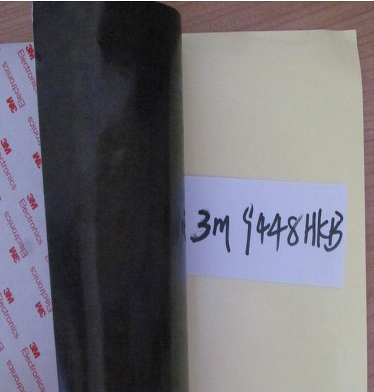 东莞厂家低价供应原装正品3M9448HKB黑色双面胶带 可代加工成型