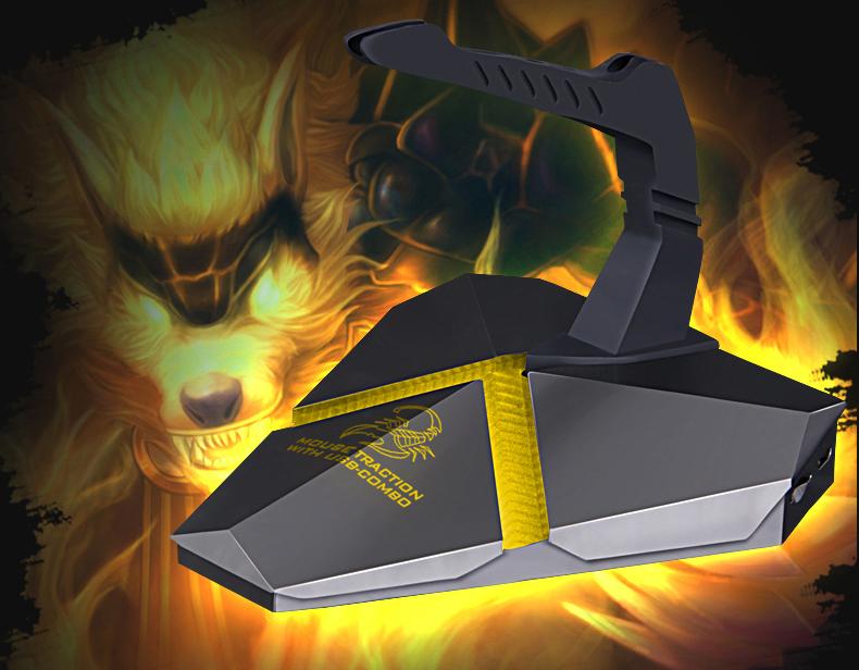 新款幽灵蝎 usb3.0HUB分线器集线器读卡器 hub集线器游戏鼠标线夹3.0