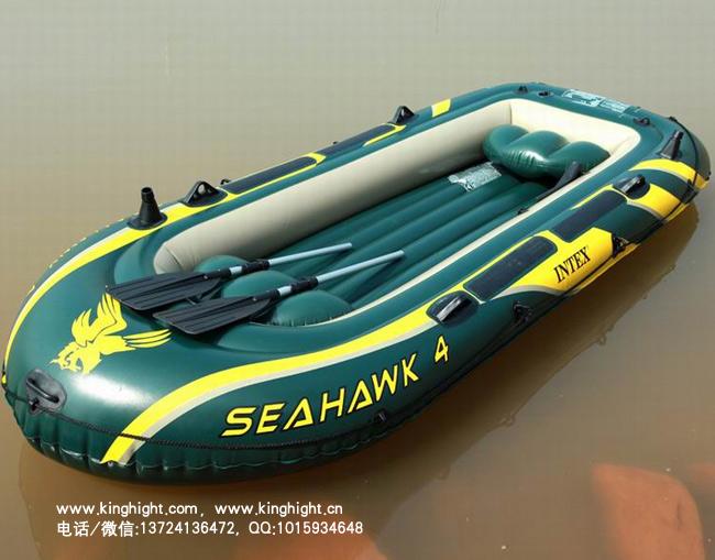 INTEX(海鹰三人充气船,3人充气钓鱼船