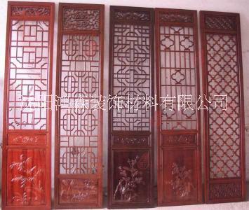 中式格子门实木门榻榻米定制实木屏风仿古门窗实木门窗