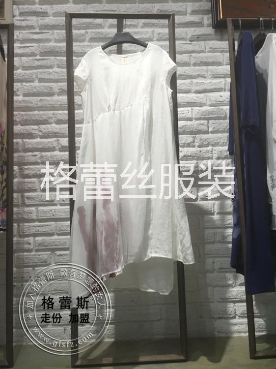 厂家一手货源/新款棉麻系连衣裙