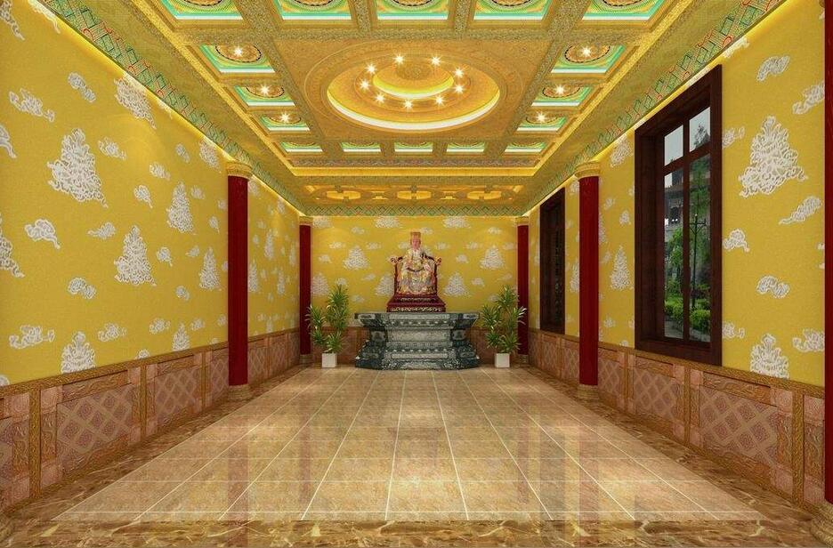 商铺首页 产品展示 > 莆田市寺庙 吊顶设计古建筑彩绘吊顶装|寺庙