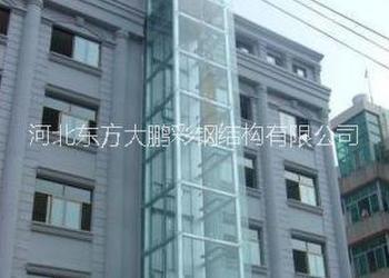 电梯井钢架图片