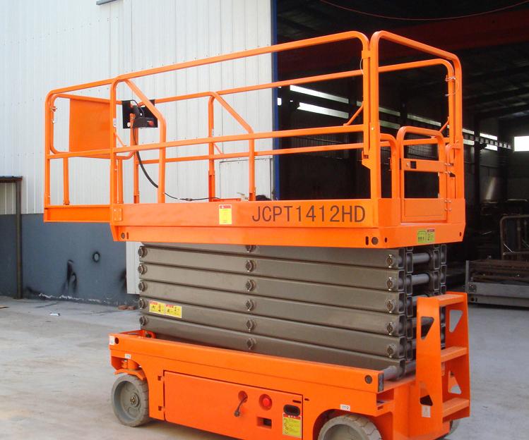台州10米1吨移动式电动液压升降机 1吨移动升降平台订做价格