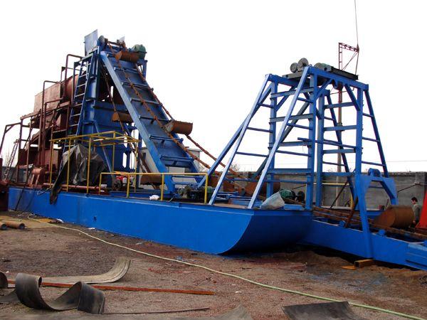 淘金船 淘金设备淘金机械加工