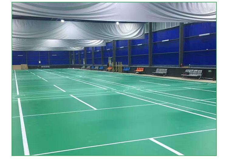 米澳晨 运动地胶 羽毛球pvc地板 羽毛球标准场地