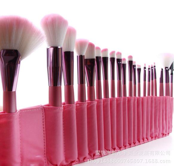 化妆刷爆款22支粉色化妆刷深圳化妆刷供应商化妆刷批发化妆刷套装