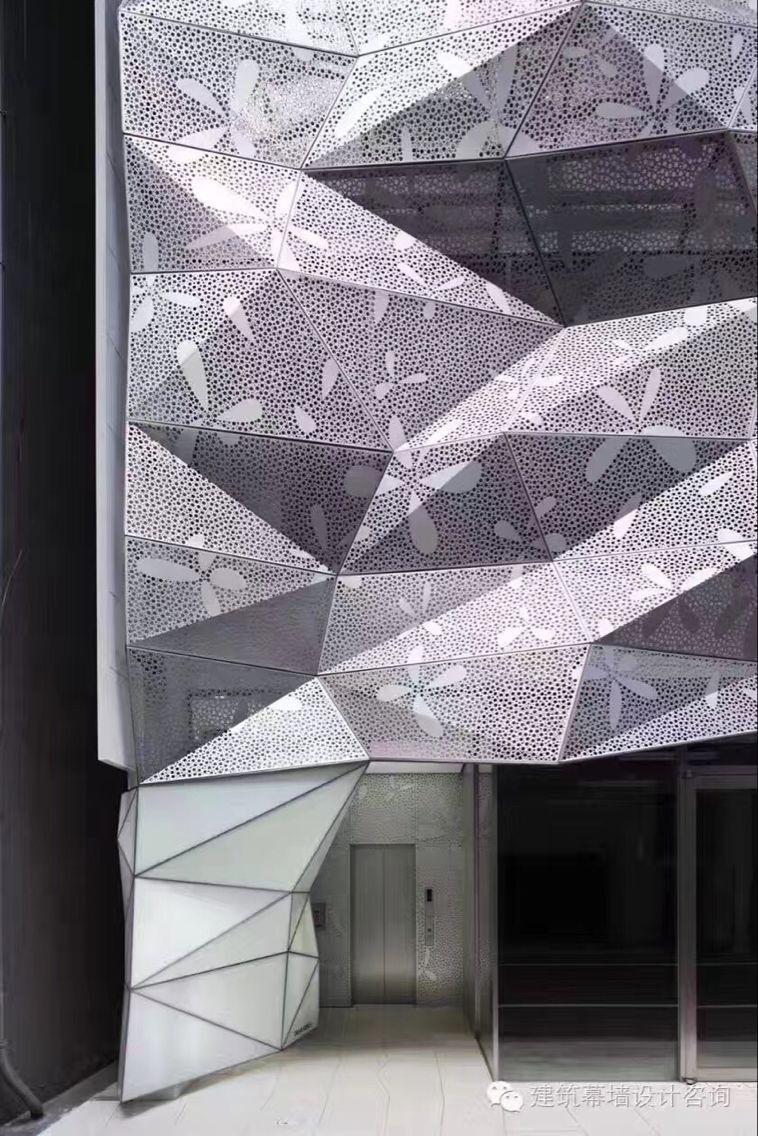 贵州外墙穿孔铝单板厂家【雕花幕墙铝单板 异形铝单板吊顶天花】订做/批发