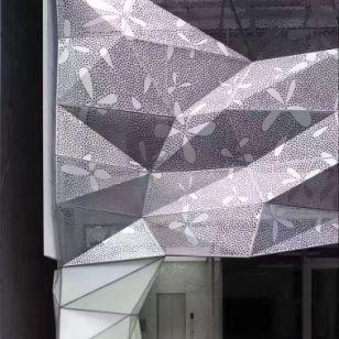 包门头造型铝单板图片