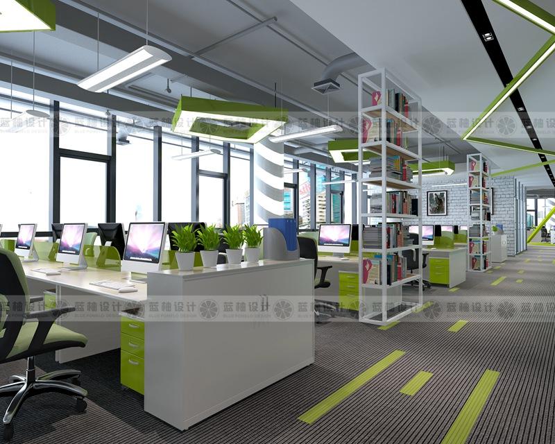 昆明办公室装修设计效果图施工公司